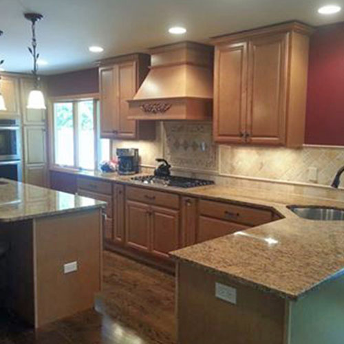 We install kitchens