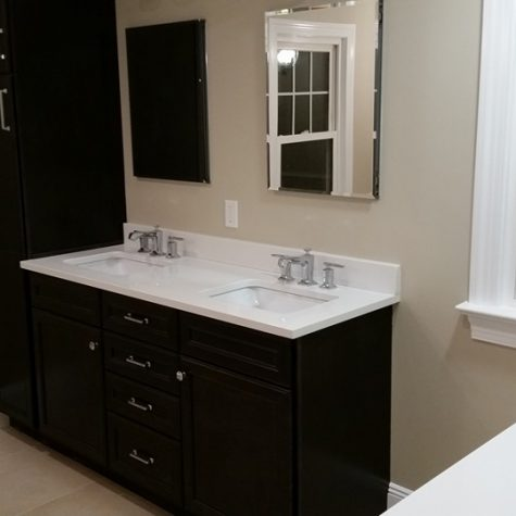 Finished Bathroom Remodel on Long Island