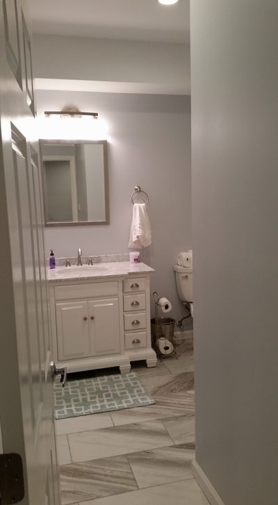 Bathroom Renovation Project on Long Island