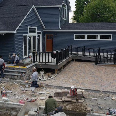 Revised Deck and Patio on Long Island
