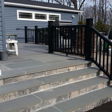 New Stoop Installation on Long Island