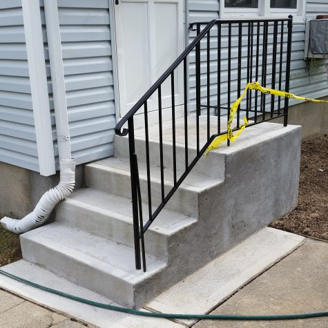 New Concrete Steps on Long Island