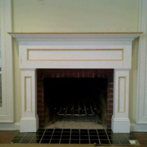 Custom Mantel on Long Island