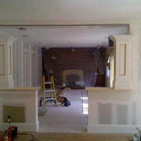 Before Custom Millwork on Long Island