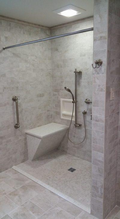 Remodeled Bathroom on Long Island