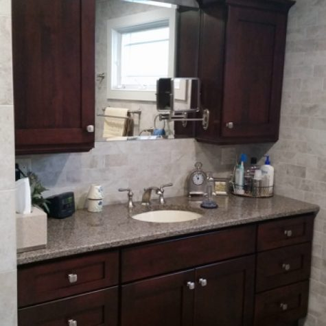 Bathroom remodel on Long Island