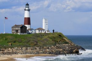 Long Island's iconic lighthouse at Montauk Point.