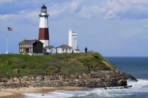 Long Island's iconic lighthouse at Montauk Point.