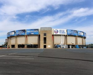 Nassau Veterans Memorial Coliseum in Uniondale, NY.